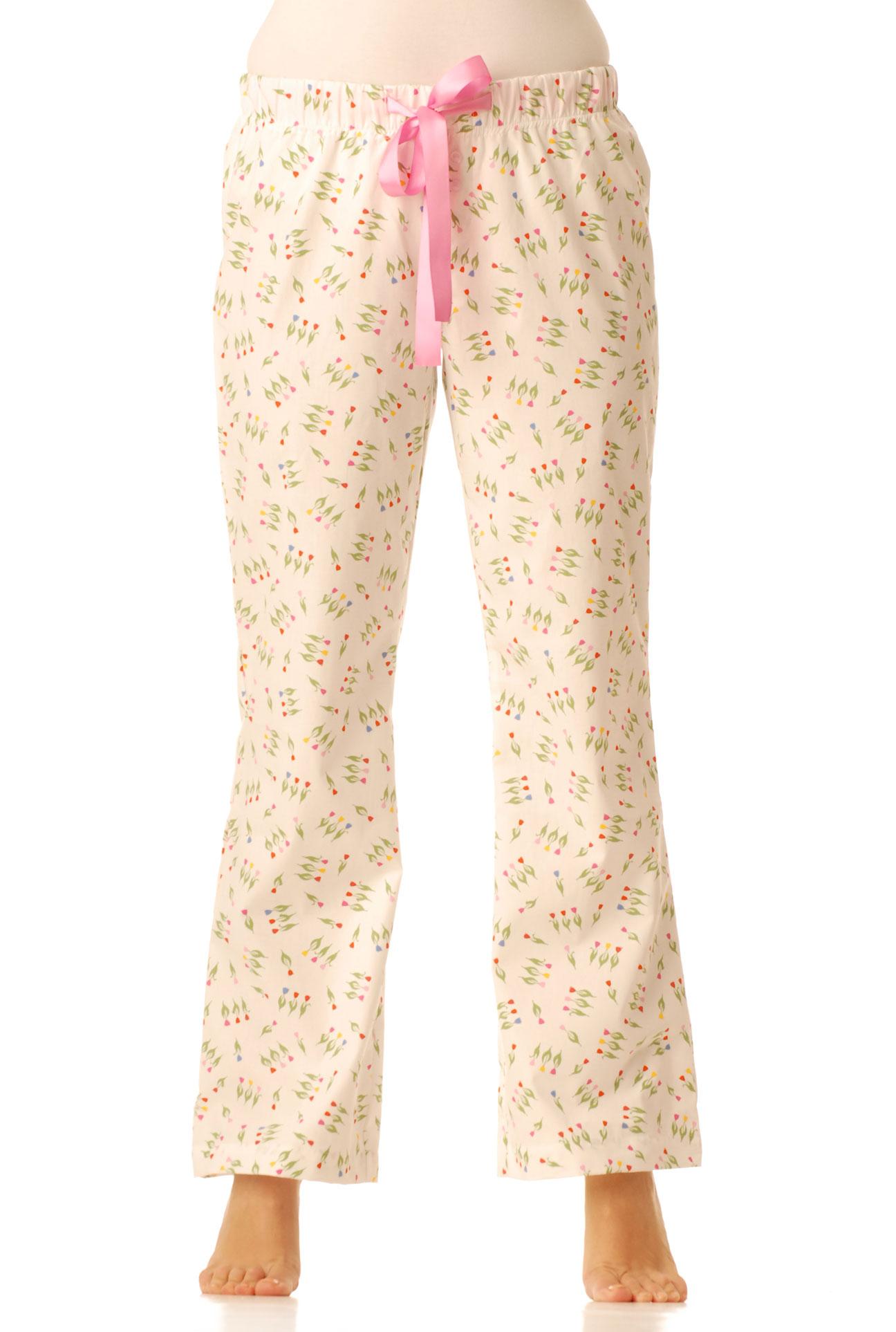 Pyžamové kalhoty - Tulipánky